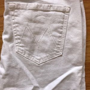 MOTHER Jeans - Mother maternity white Jeans